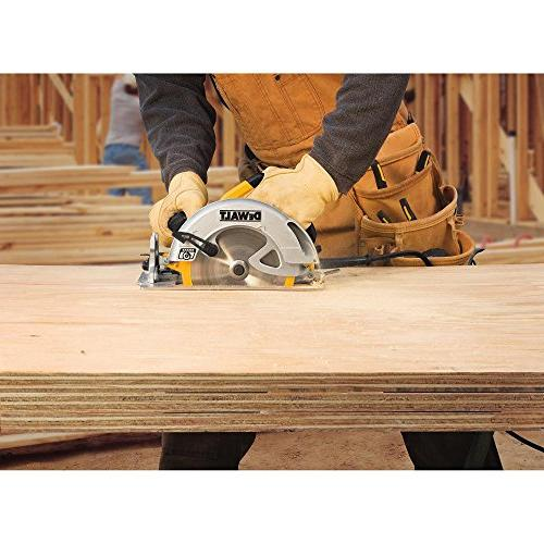 DEWALT DWE575SB 7-1/4-Inch Circular Saw Electric Brake