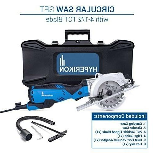 Electric Compact Circular Saw Corded Drive Dust