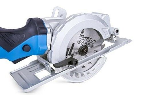 Electric Compact Circular Saw Corded 4-1/2 Dust