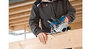 Bosch GKS Professional Cordless Circular Saw battery-powered robust sawing