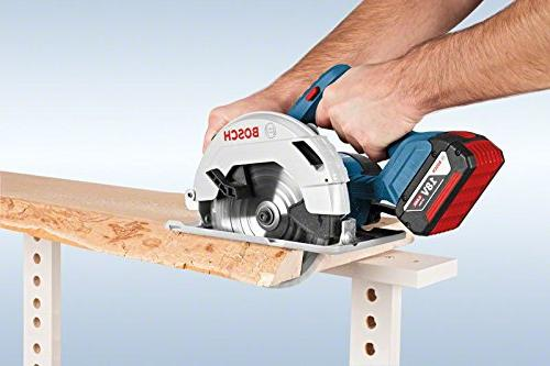Bosch Professional Cordless Saw battery-powered all-rounder robust sawing