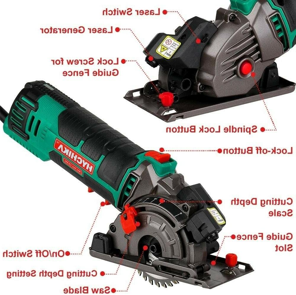 Mini Compact Tool with 3 Saw Blades