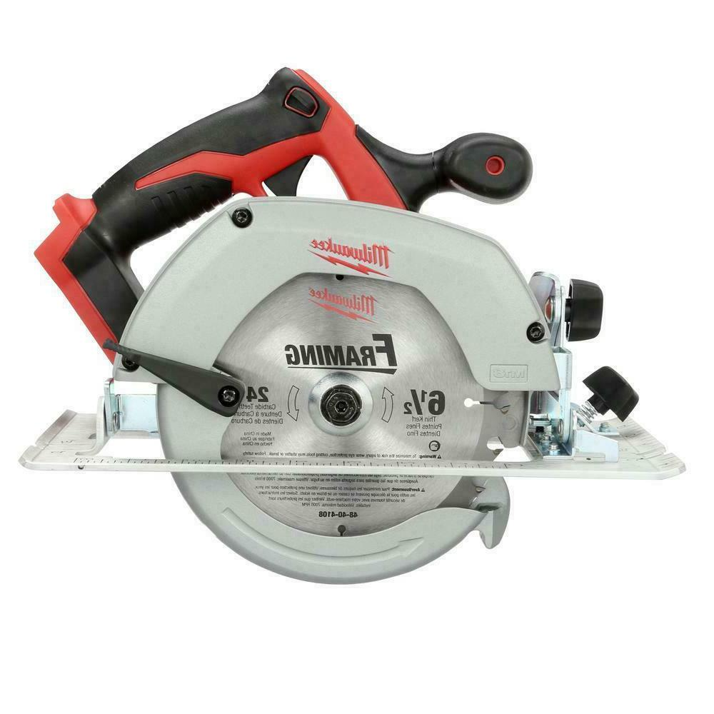 New Volt 6 Circular Saw With Blade And Guide #