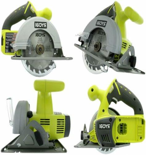 one p504g cordless circular saw