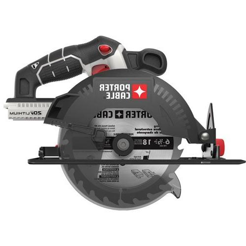 Porter-Cable PCC660B Cordless in. Circular