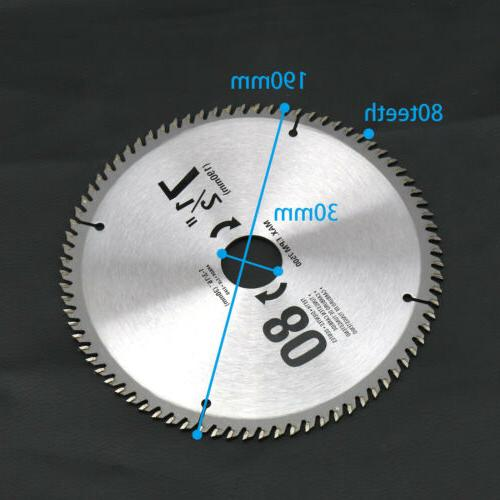 SA 190mm 80Teeth Disc Circular Saw For Tool