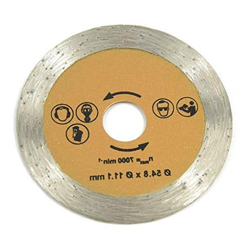Saw Blades - 54 8mm Circular Saw Blade Speed Steel Mandrel Holder Ryobi Case Miter