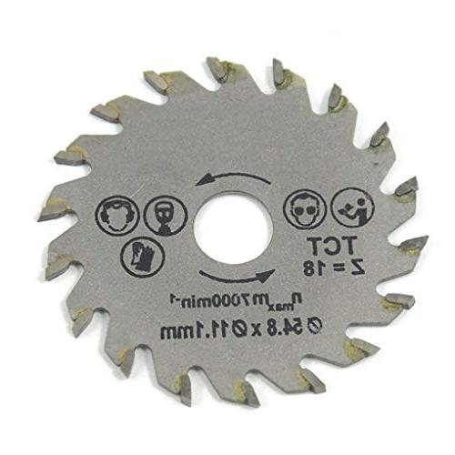 Saw Blades - 3pcs 54 Circular Blade Speed Steel Woodworking Cutting Mandrel Table Miter Bosh