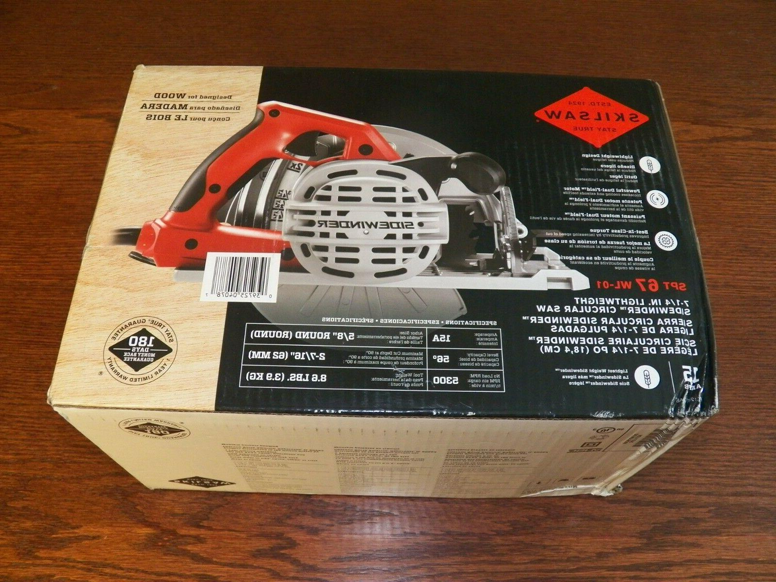 SKILSAW SPT 67 15 Amp In. Sidewinder Circular Saw *NEW*