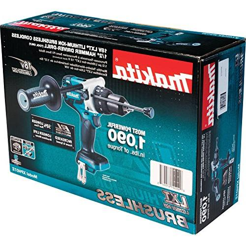 Makita Lithium-Ion Hammer Driver-Drill, Tool