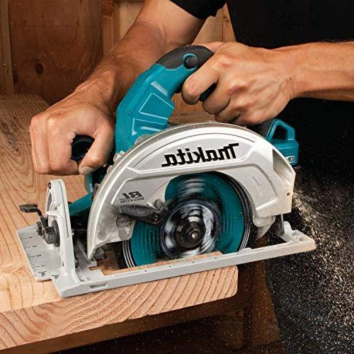 """Makita X2 LXT Brushless 7-1/4"""" Saw Kit with"""