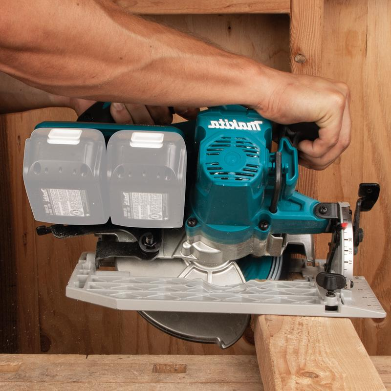 "Makita XSH06z Lithium‑Ion Brushless Cordless 7‑1/4"" Saw,"