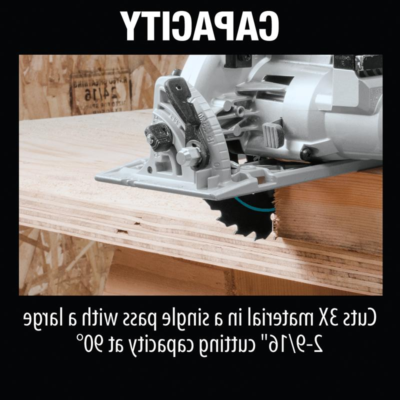 "Cordless Rear Handle 7-1/4"" Circular Saw"