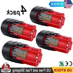 Milwaukee 48-11-2440 12V XC 4.0 Red Lithium Lithium-Ion Cord