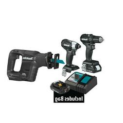 Makita 18V LXT® Lithium-Ion Sub-Compact BRUSHLESS Combo Kit
