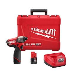 """M12 Fuel 1/4"""" Hex Impact Driver with 2 Batteries"""