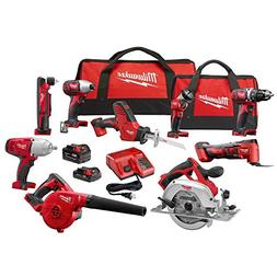 Milwaukee M18 Combo 9 tool Kit