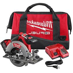 "Milwaukee 2730-21 M18 FUEL 6-1/2"" Circular Saw Kit with 1 Ba"