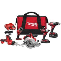 Milwaukee M18 18-Volt Lithium-Ion Cordless Combo Kit  2695-2