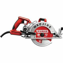 Skilsaw Magnesium Lightweight Worm Drive Circular Saw- 7 1/4
