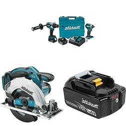 Makita XT268T 18V LXT Lithium-Ion Brushless Cordless 2-Pc. C