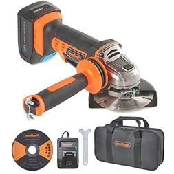 "VonHaus 20V MAX Cordless 4 1/2"" Angle Grinder Set with 1x"