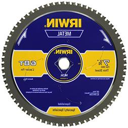 Irwin - Metal Cutting Circular Saw Blades 7 1/4 68T Mc - Thi