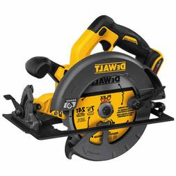 "New Dewalt FLEXVOLT 60V Cordless Brushless 7-1/4"" Circular S"