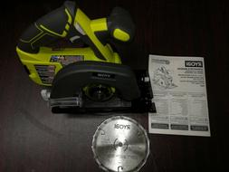 "New Ryobi GENUINE 5-1/2"" Cordless Circular saw with blade an"
