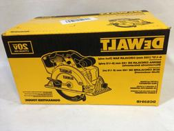 NEW IN RETAIL BOX Dewalt DCS391B 20V Cordless Battery Circul