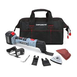 WORKPRO Oscillating Multi-Tool 20V Lithium-Ion Cordless with