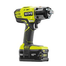 "P261 3 speed RYOBI 18V 1/2"" cordless impact wrench kit w Bag"