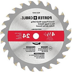 "PORTER-CABLE PC412TCT 4-1/2"" 24T TCT Saw Blade"