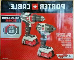 PORTER-CABLE PCCK619L2 20V 2-Tool Brushless Combo Kit