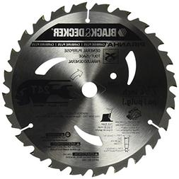 BLACK+DECKER Pr824 24T 7-1/4-Inch Carbide Saw Blade