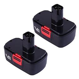 2-Replacement for Craftsman 19.2V Battery 2000mAh NICD C3 13