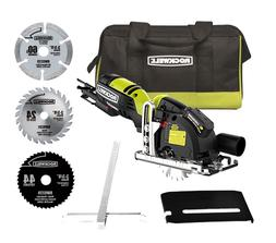 Rockwell RK3440K Versacut 4 Amp Corded Circular Saw with 3-B
