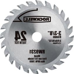 Rockwell Replacement Saw Blade - 3.13 Diameter Style - Carbi