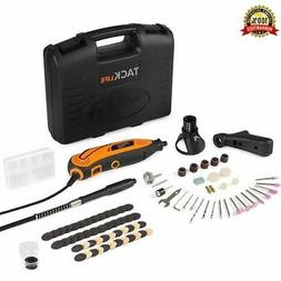 Rotary Tool Kit Variable Speed with Flex shaft, 80 Accessori