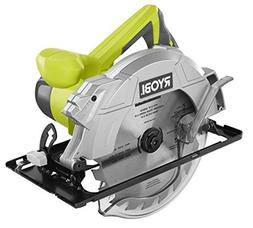 Ryobi 14 Amp 7-1/4 Adjustable Electric Circular Saw w/Exactl