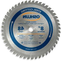 Oshlun SBF-080048 8-Inch 48 Tooth TCG Saw Blade with 5/8-Inc