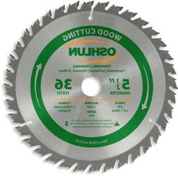 Oshlun SBW-055036 5-1/2-Inch 36 Tooth ATB Finishing and Trim