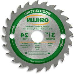Oshlun SBW-034024 3-3/8-Inch 24 Tooth ATB General Purpose an