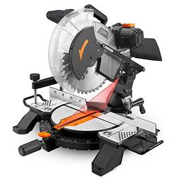 Tacklife 15-Amp 12-inch Single Bevel Compound Miter Saw with