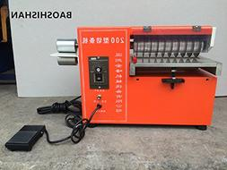 Speed Adjustable Leather Slitting machine Double-use Shoes S