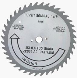 Crain Cutter 804 6-1/2-Inch 40 Tooth Wood Saw Blade with 5/8