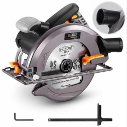 "TACKLIFE Upgraded 15-Amp 1800W 7-1/2"" Circular Saw with Ligh"