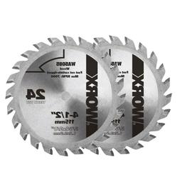 "WORX WA5085 4-1/2"" WORXSAW Circular Saw Replacement Blade -"
