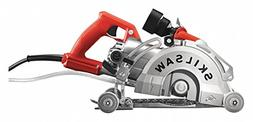 "7"" Wet/Dry Circular Worm Drive Saw, 5100 Max. RPM, Electric"