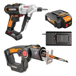 Worx WO7043 20V Switchdriver Drill/Driver and Axis 2-in-1 Re